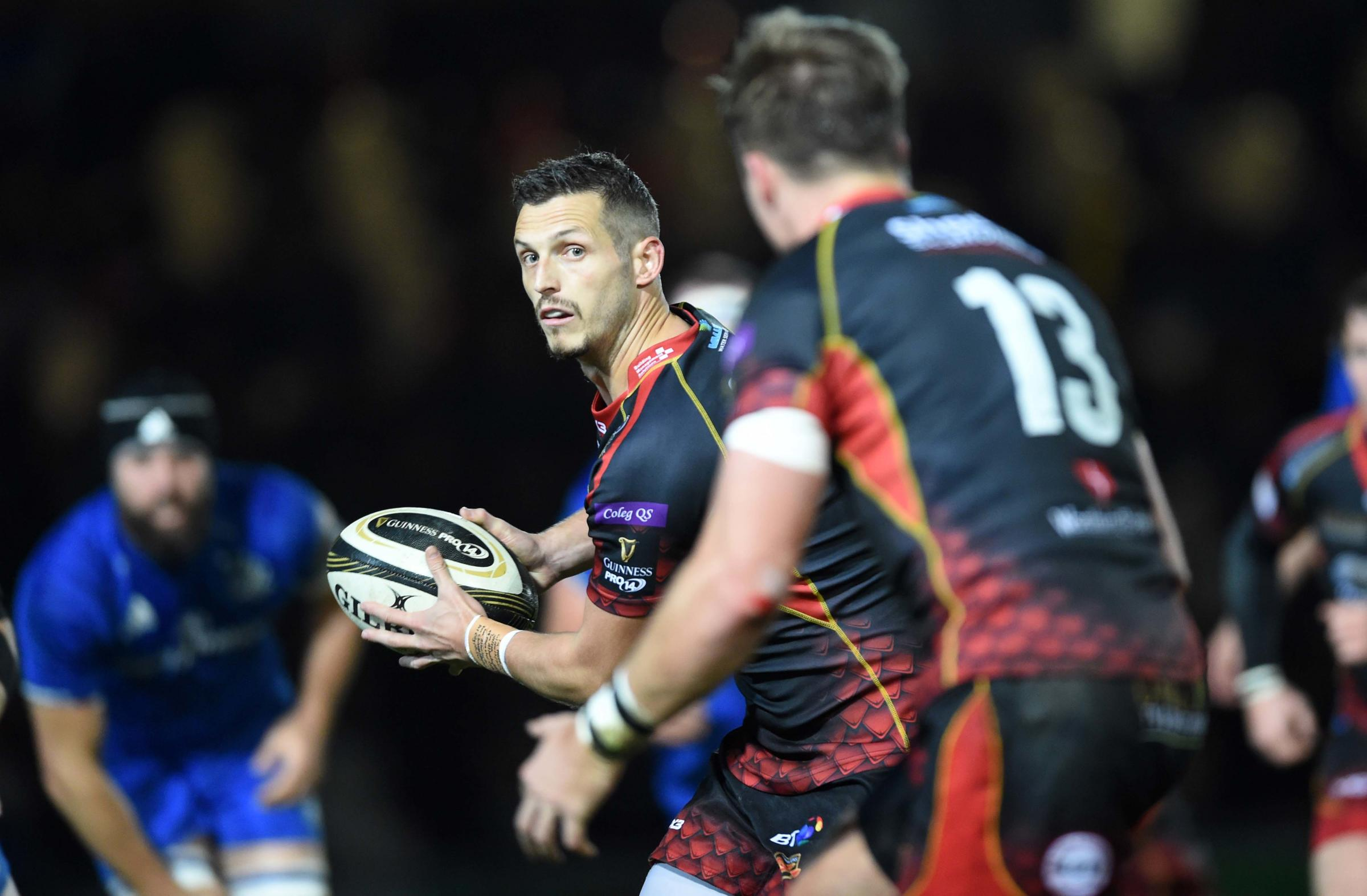 MOVING ON (AGAIN): Jason Tovey's third spell at the Dragons has come to an end