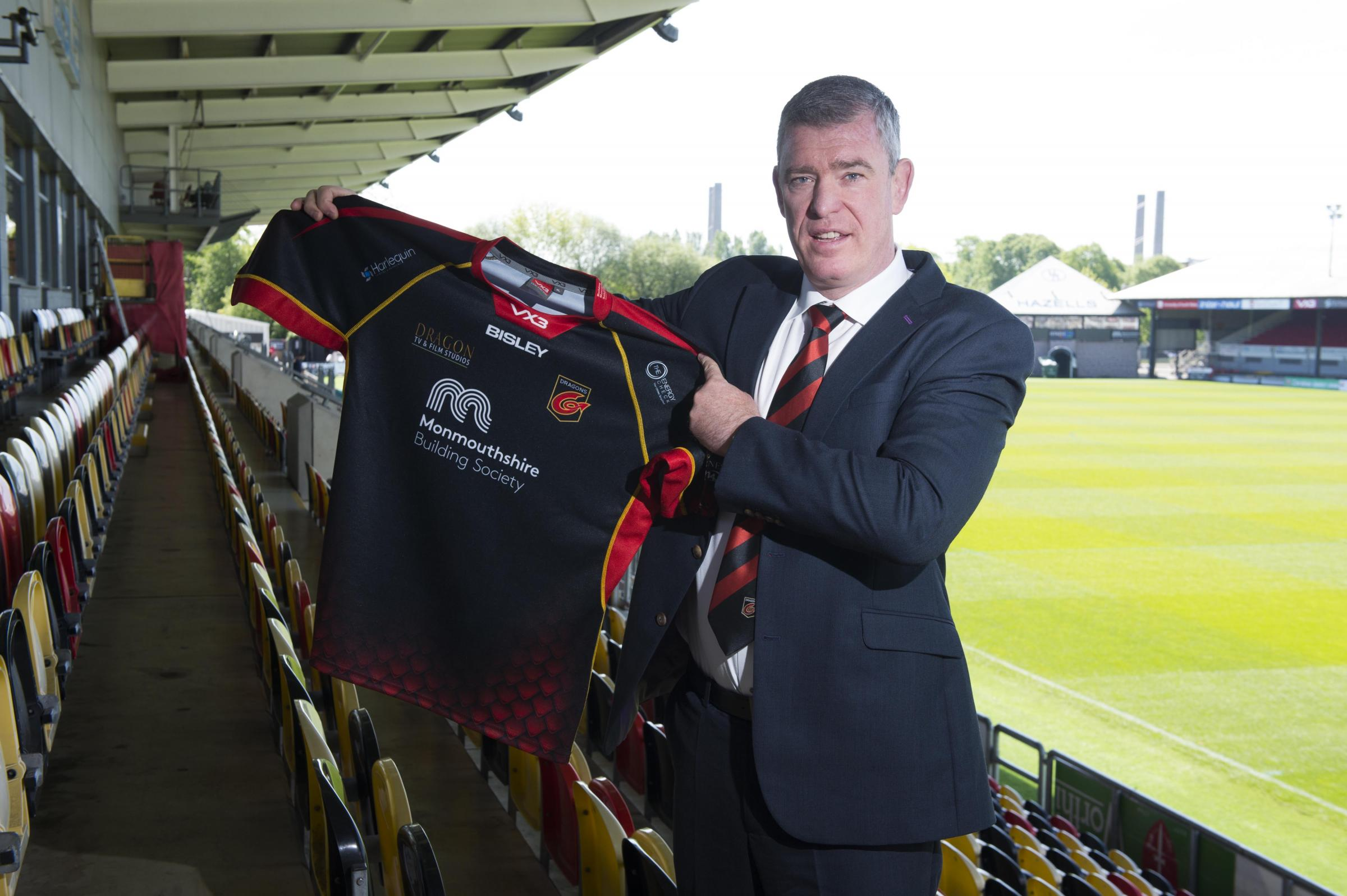 BIG TASK: Dean Ryan faces plenty of challenges at the Dragons, and knows it