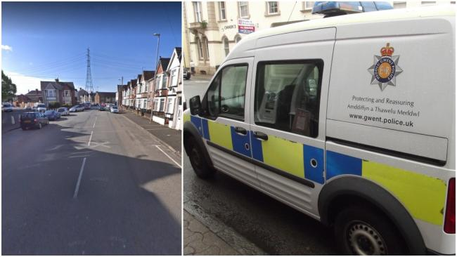 Gwent Police attended the scene on Alexandra Road in Pillgwenlly, Newport