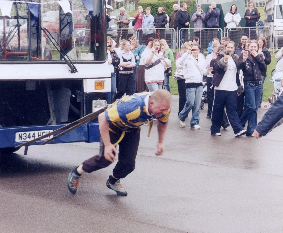 Torfaen strongman Mike Williams opens up about childhood trauma
