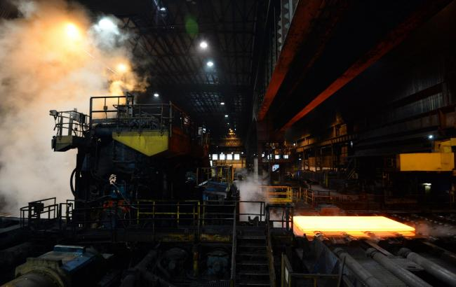 File photo dated 29/10/2015 of the inside of the Plate Mill at Scunthorpe steel plant, now owned by British Steel, who are on the brink of collapse putting thousands of jobs at risk, Sky News reported Monday evening. PRESS ASSOCIATION Photo. The company h