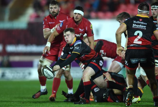 CHANCE TO IMPRESS: Dragons scrum-half Dan Babos