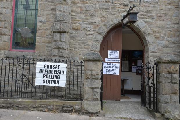 South Wales Argus: The Tabernacle Church polling station, Abertillery. Picture: www.christinsleyphotography.co.uk