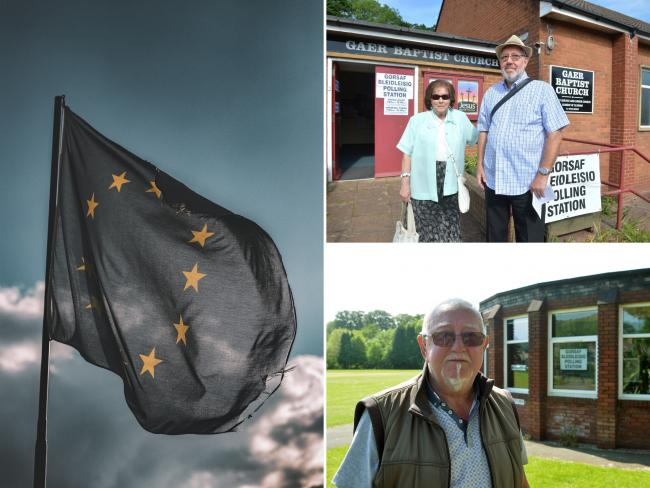 Voters across Gwent hope EU Elections provide a wake-up call to the main parties