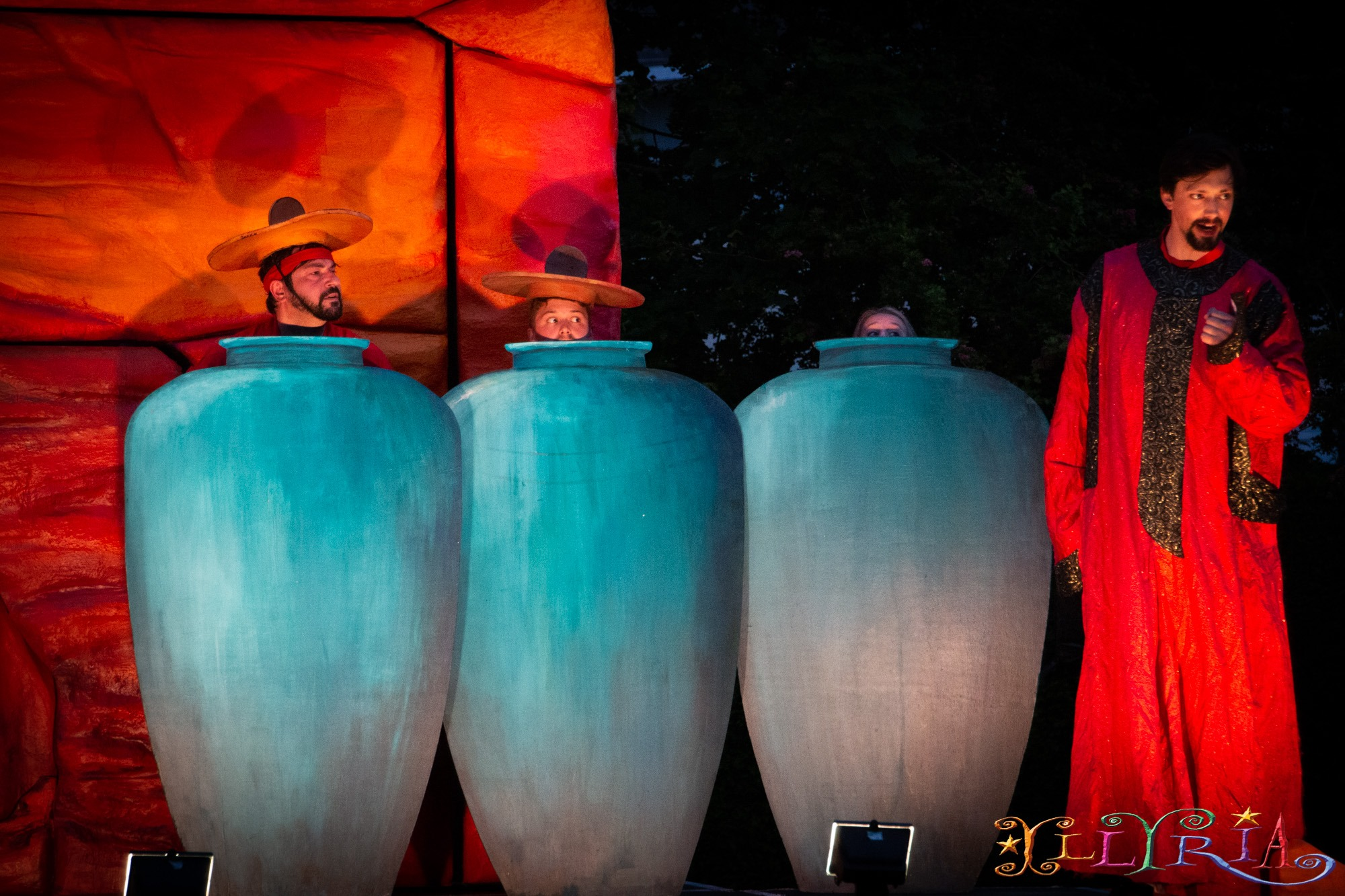 Ali Baba & the Forty Thieves - outdoor theatre