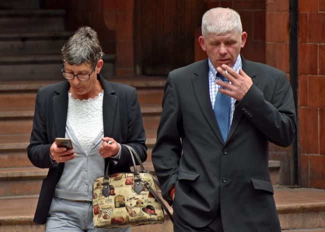 Monmouthshire pair convicted of animal suffering were 'subject of social media hate campaign'. Pictured are Julie Elmore and Paul Reece. Picture: Matthew Cooper/PA Wire