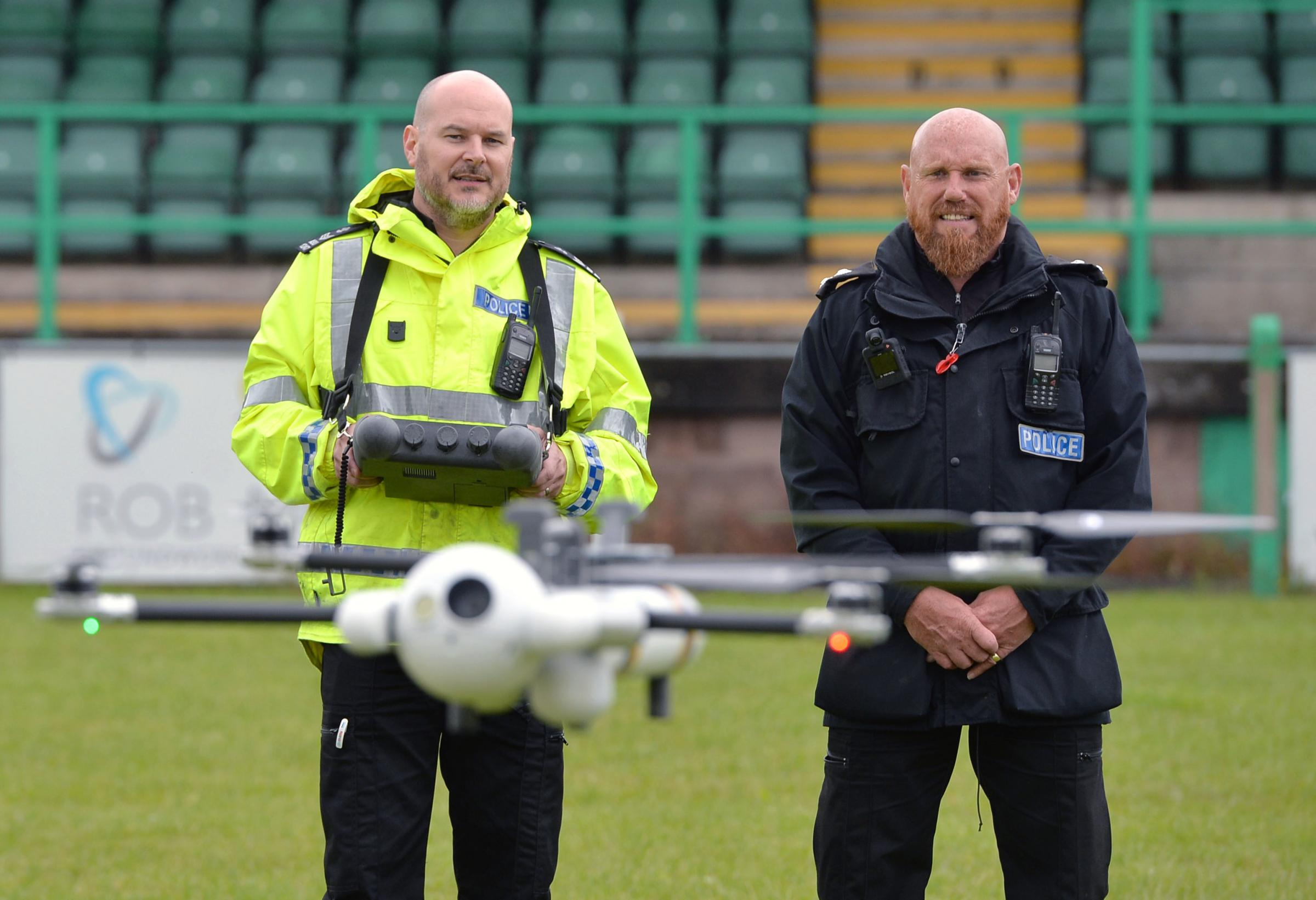 Gwent Police unveil state-of-the-art £20k crime-fighting drone